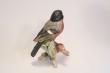 купить фарфор, фигурка фарфоровая птица, снегирь с ягодой, Гебель (Goebel ) купить, статуэтки фарфоровые, фаянс,  керамика