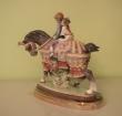 купить фарфор, статуэтка дети  на лошади, дети валенсии, фарфор, Франциско Каталья (Francisco Catalá) , Ладро (Lladro)