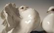 купить фарфор, статуэтка голуби, пара голубей фарфор, голуби  Розенталь (Rosenthal), Фриц Хайденрейх (Fritz Heidenreich), Розенталь (Rosenthal)
