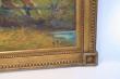 картина охота, холст, масло, картины Густав Пруша, Gustave Prusha, картины маслом, купить картину охота, картина фрагмент конной охоты с собаками