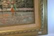 картина городской пейзаж,  холст, масло, купить картину, изображающую Париж, картина в стиле импрессионизм, интерьерный пейзаж, К Нейл, K. Nail