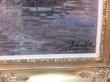 картина городской пейзаж, купить картину, живопись в стиле импрессионизм, холст, масло, набережная Амстердама, Е.Амоффатани, E.Amoffatani