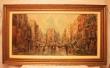 картина Париж, холст, масло, картины , картины маслом, купить картину парижская улица,  картина городской Париж